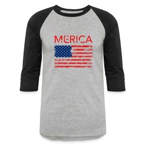 Merica Men's tee - Baseball T-Shirt