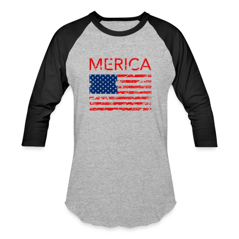 Merica Men's tee - Baseball T-Shirt