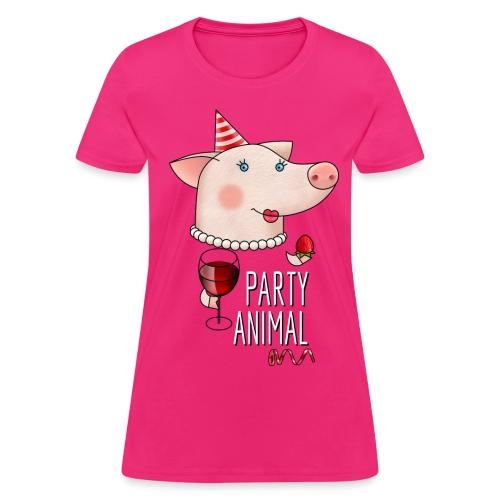 Party girl's shirt - Women's T-Shirt
