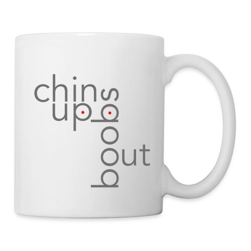 ChinUpBoobsOut Mug - Coffee/Tea Mug