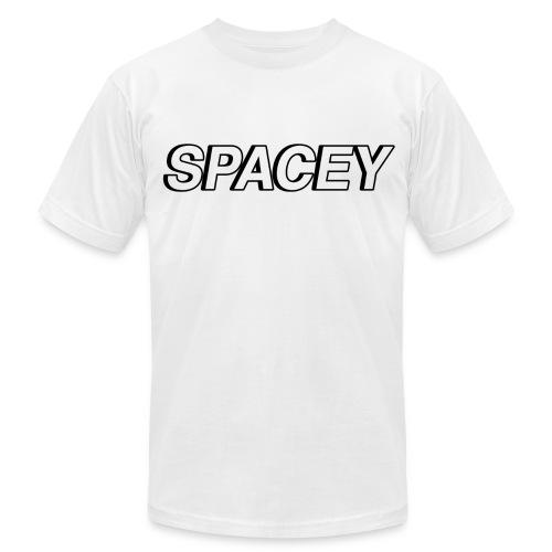 Men's Spacey T-Shirt (Black Logo) - Men's  Jersey T-Shirt