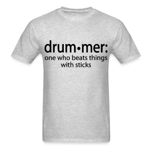 Men's Drummer Definition T-shirt - Men's T-Shirt