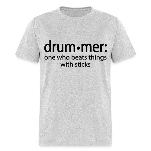 Men's Drummer Definition T-shirt - Men's T-Shirt