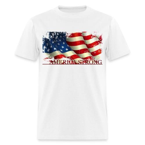 AMERICA STRONG - Men's T-Shirt