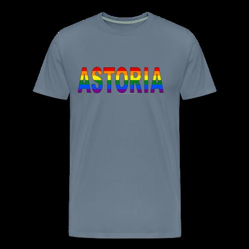 Astoria Pride Rainbow - Men's Premium T-Shirt