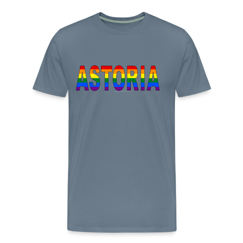 Astoria Pride Rainbow - Men's Premium T-Shirt