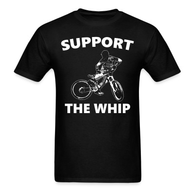 Support The Whip - Men's T-Shirt