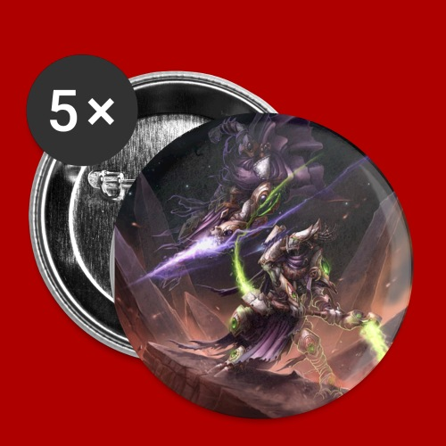 Dark Templar Fight Button - Small Buttons