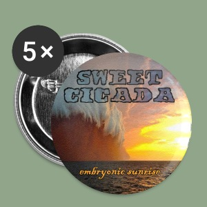 Sweet Cicada - Sunrise Button - Small Buttons