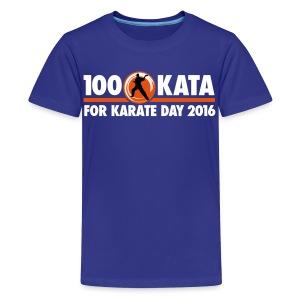 100 Kata Challenge for Karate Day Kids T-Shirt - Kids' Premium T-Shirt