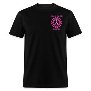 VTFD Breast Cancer Fundraiser - White Flag - Gildan Men's - Men's T-Shirt