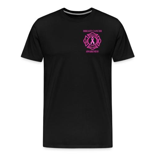 VTFD Breast Cancer Fundraiser - White Flag - Spreadshirt Men's - Men's Premium T-Shirt