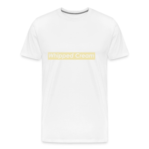 Whipped Cream - Men's Premium T-Shirt