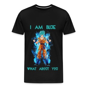 Saiyan Blue - Men's Premium T-Shirt