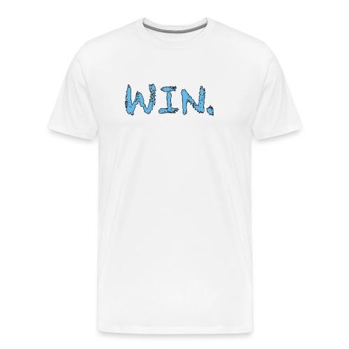 White/Tarheel Win Period T-Shirt - Men's Premium T-Shirt