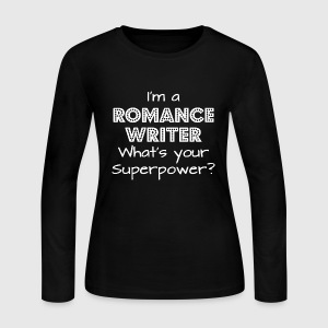 I'm A Romance Writer - Women's Long Sleeve Jersey T-Shirt