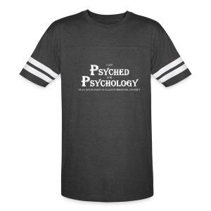 I Get Psyched For Psychology Unisex Sports T-Shirt - Vintage Sport T-Shirt