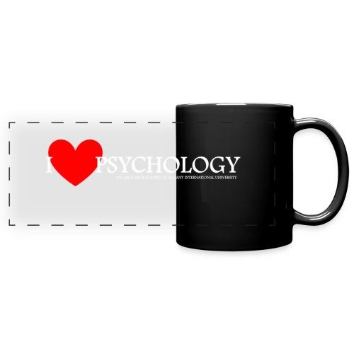 I Heart Psychology Coffee Mug - Full Color Panoramic Mug