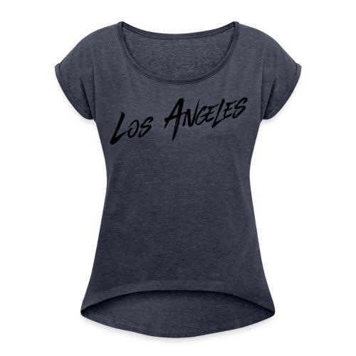 The Los Angeles Urban Shirt, Women - Women's Roll Cuff T-Shirt