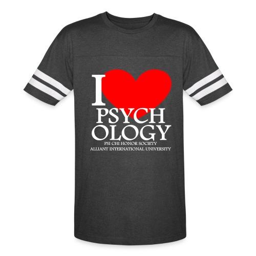 I Heart Psychology Unisex Tee - Vintage Sport T-Shirt