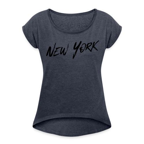 The New York Urban Shirt, Women - Women's Roll Cuff T-Shirt