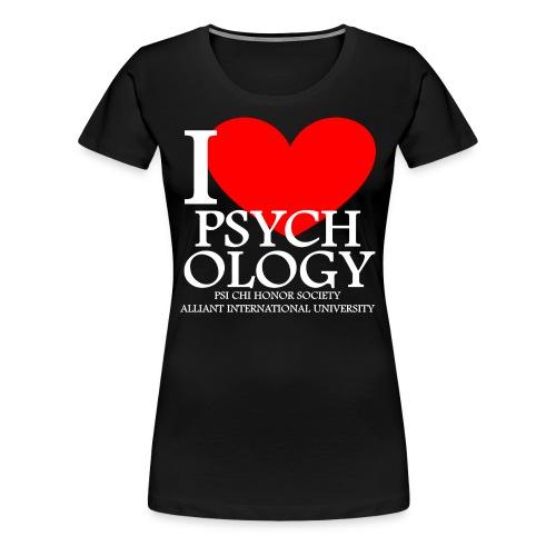 I Heart Psychology Women's Tee - Women's Premium T-Shirt