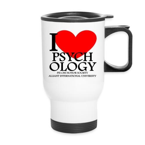 I Heart Psychology Travel Mug - Travel Mug