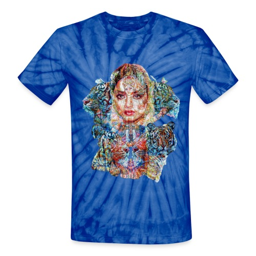 tie dye graffiti trip Unisex - Unisex Tie Dye T-Shirt