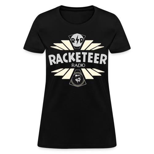 Womens Racketeer Radio Logo - Women's T-Shirt