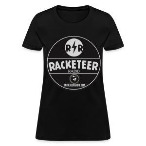 Womens RacketeerRadio.com Logo - Women's T-Shirt
