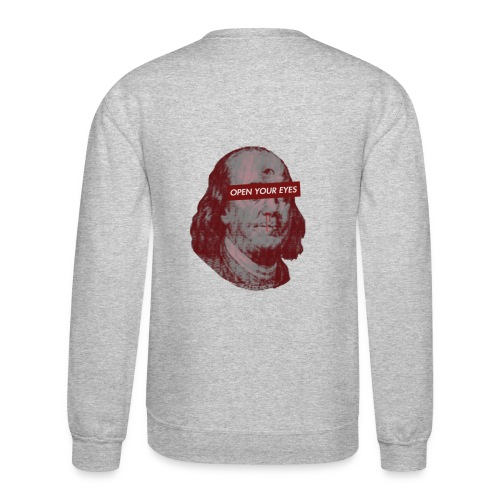 Benjamin Franklin Nose Bleed O.Y.E. Sweatshirt - Crewneck Sweatshirt