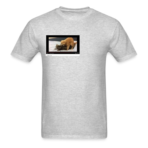 Cat dies - Men's T-Shirt
