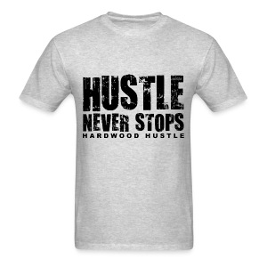 Hustle w/dark art - Men's T-Shirt