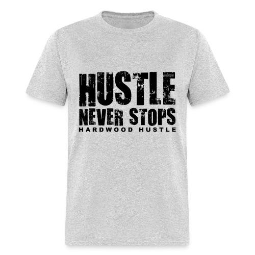 Hustle w/dark art - Men's T-Shirt