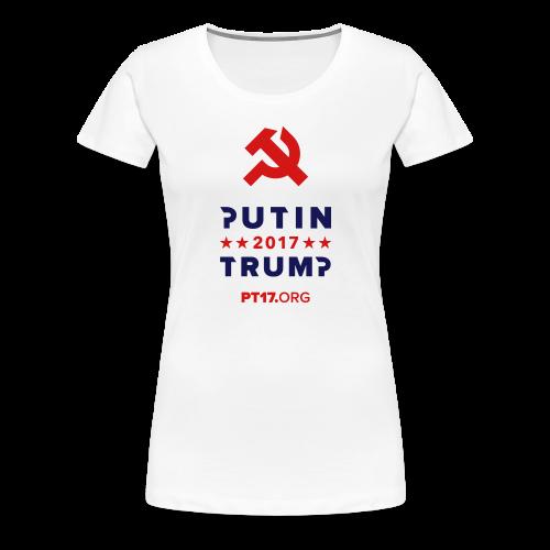 Women White T-shirt - Women's Premium T-Shirt
