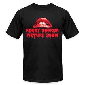 Rocky Horror American Apparel Black - Men's T-Shirt by American Apparel