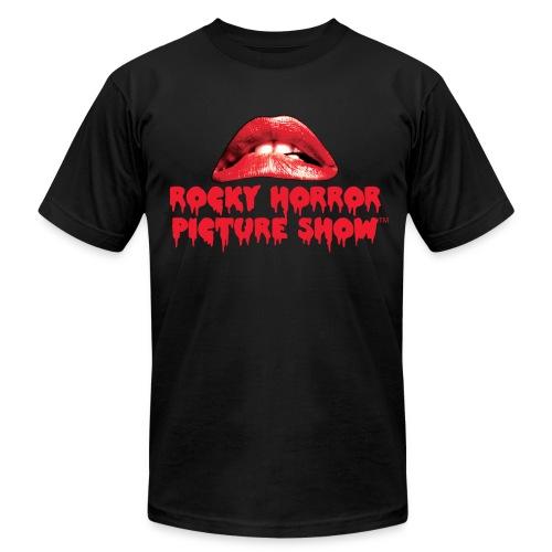 Rocky Horror American Apparel Black - Men's Fine Jersey T-Shirt