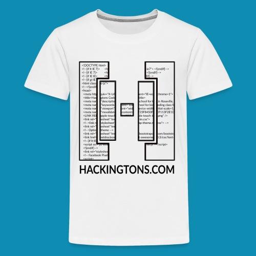 Kids Code Through Logo - Kids' Premium T-Shirt