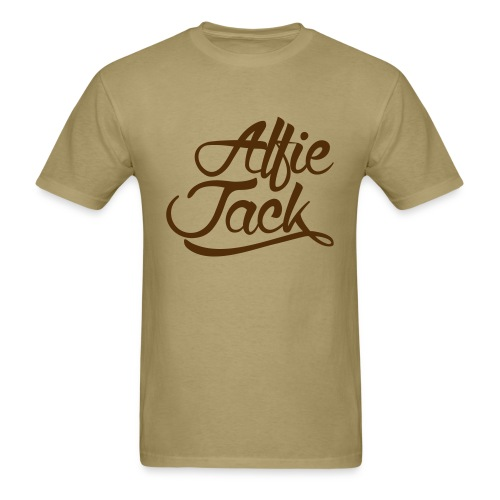 AJ Script - Men's T-Shirt