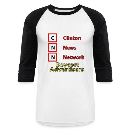 CNN Boycott - Baseball T-Shirt