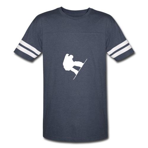 Snowboarder Guy Vintage Shirt - Vintage Sport T-Shirt