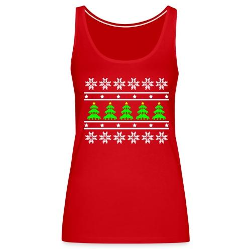 Derby Christmas Ladies Tank - Women's Premium Tank Top