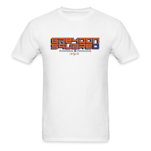 Orange & Blue Greydon Square NYC Tee Shirt - Men's T-Shirt