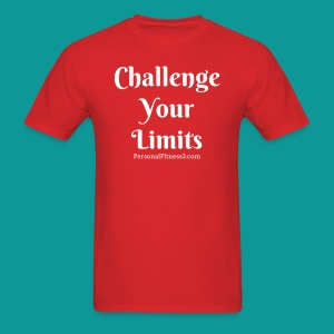 Challenge Your Limits - Men's T-Shirt