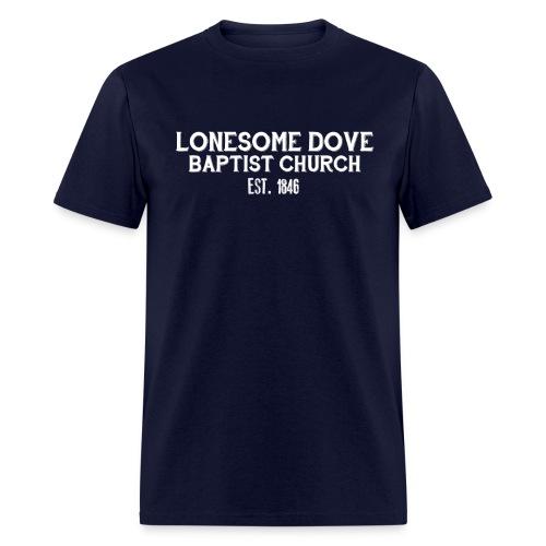 Dark Lonesome Dove Baptist Church Shirt - Men's T-Shirt