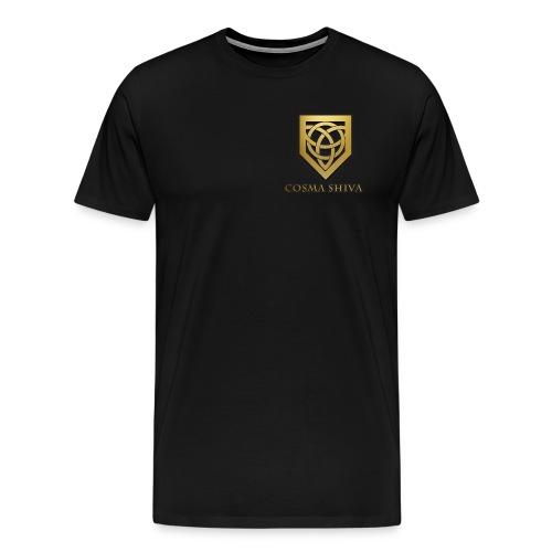 Cosma Shiva - T-shirt | Small Logo (Male) - Men's Premium T-Shirt