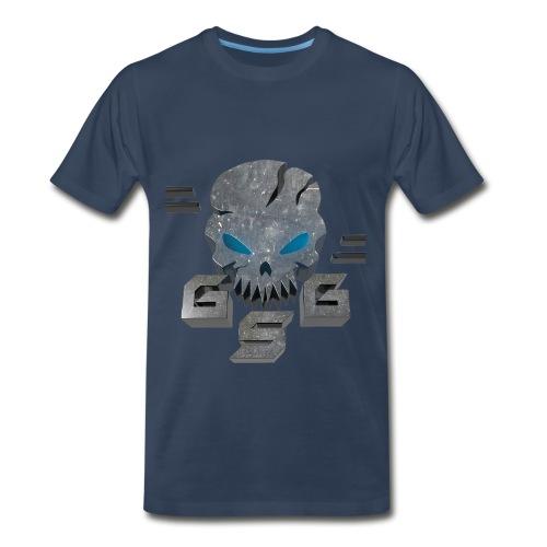 Gskull Gaming Large skull logo - Men's Premium T-Shirt