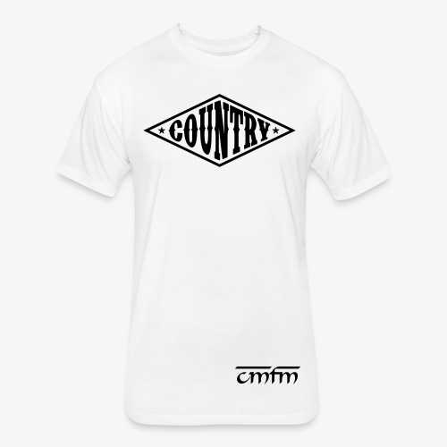 CMFM COUNTRY PROMO - Fitted Cotton/Poly T-Shirt by Next Level