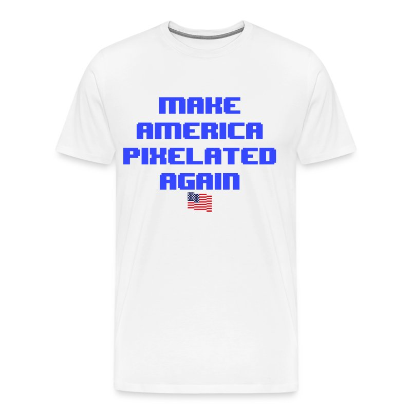 Pixelated America - Men's Premium T-Shirt