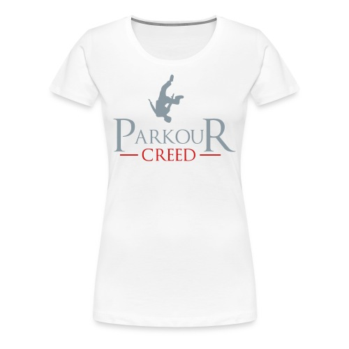 Parkour Creed - Women's Premium T-Shirt